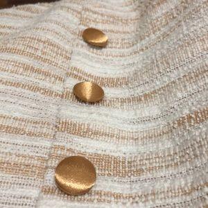 Sharagano Dresses - Sharagano bisque/ ivory dress